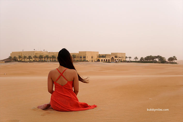 An oasis of tranquillity amidst the magnificent Rub al Khali desert